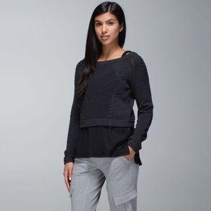 Lululemon Be Present Pullover Sweater Crop